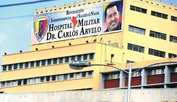 Chávez cumplió 24 horas en hospital