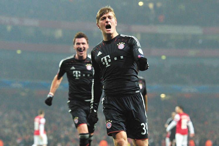 """Bayern sacó su """"arsenal"""""""