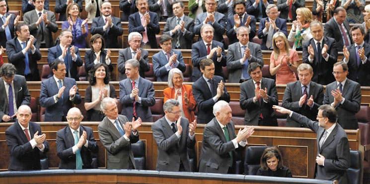 """Evité el """"naufragio"""" dice Rajoy"""