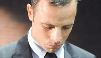 Pistorius, una semana detenido