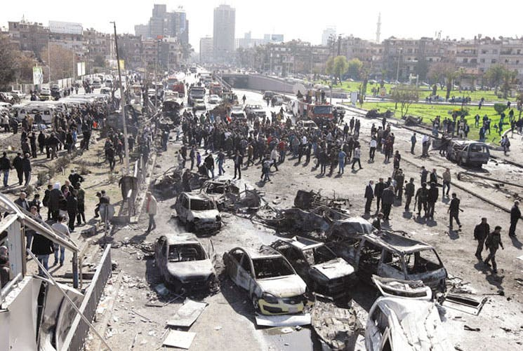 Siria sufre nuevo atentado
