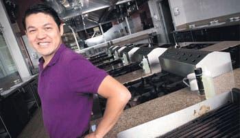 Un empresario chef