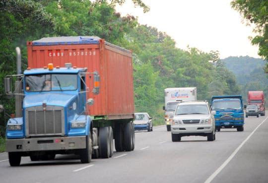 Limitación de paso para camiones pesados