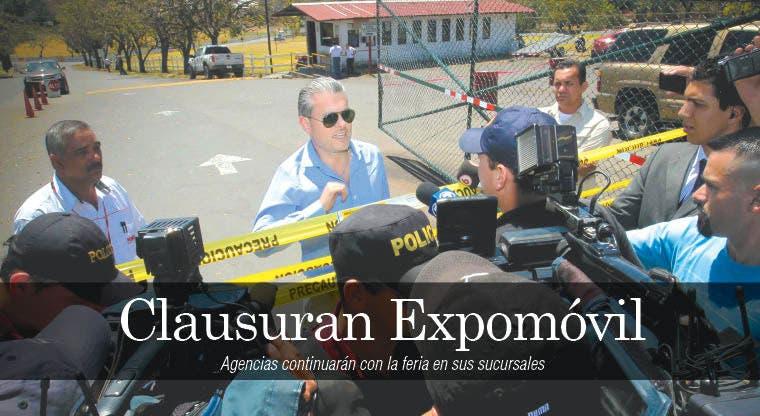 Clausuran Expomóvil