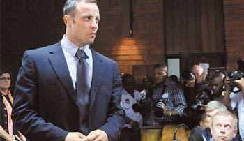 Pistorius, libre bajo fianza