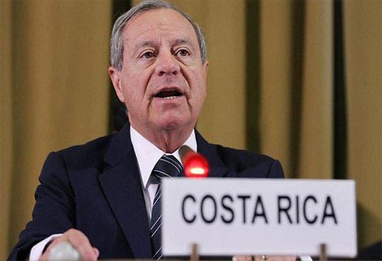 Canciller Castillo espera mejorar relación con Nicaragua
