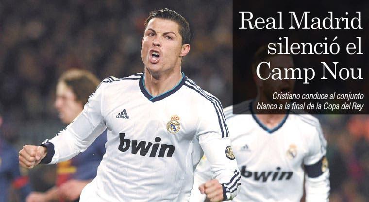 Real Madrid silenció el Camp Nou