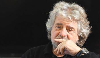 El cómico Grillo triunfa en parlamento italiano