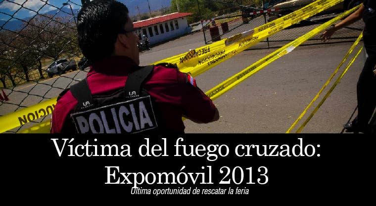 Víctima del fuego cruzado: EXPOMÓVIL 2013