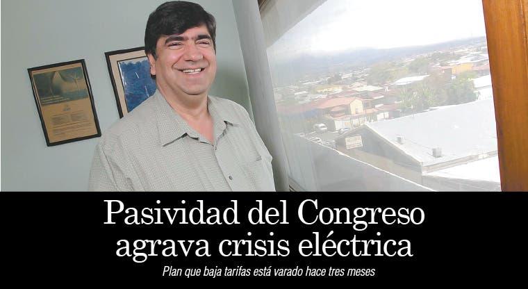 Pasividad del Congreso agrava crisis eléctrica