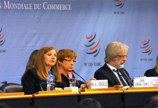 """González pide recobrar """"credibilidad"""" de OMC"""