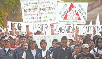 Piden a caficultores colombianos liberar vías