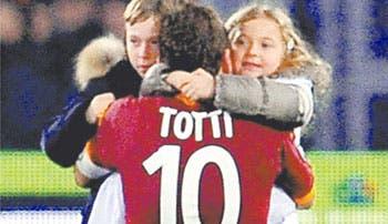 Totti escribe historia