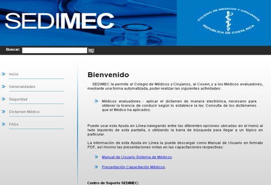 Dictámenes electrónicos para licencia sustituirán actuales