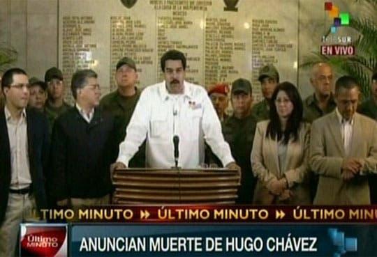 Chávez ha muerto