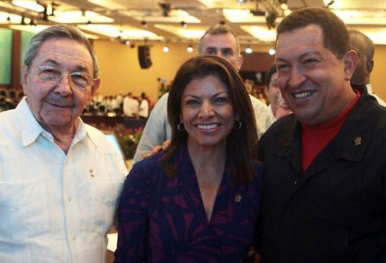 Chinchilla expresa su solidaridad al pueblo venezolano