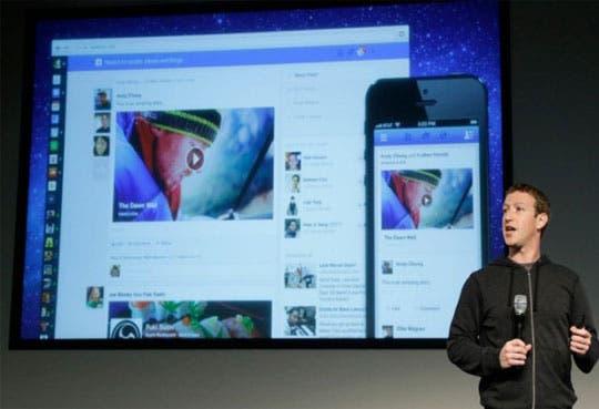 """Facebook cambia de """"look"""""""