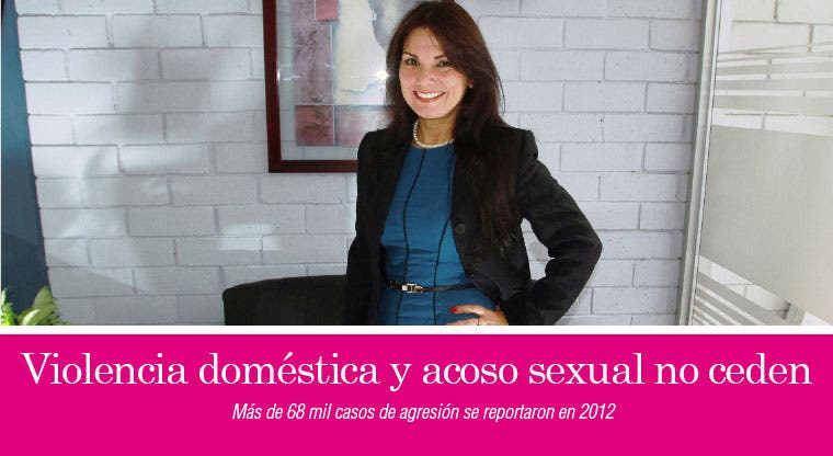 Violencia doméstica y acoso sexual no ceden