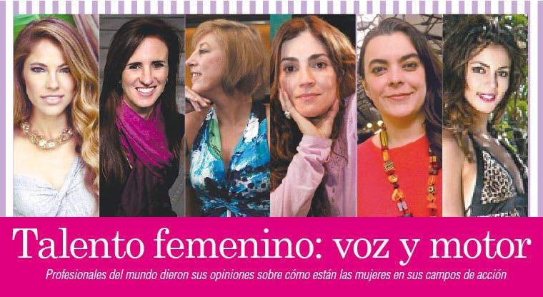 Talento femenino: voz y motor