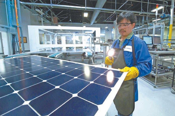 Energía solar se abre paso en China