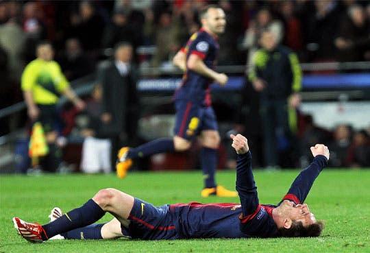 Messi y Villa protagonistas en victoria del Barça