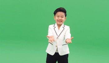 """Little PSY"", nuevo ídolo tras Gangnam Style"