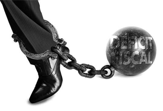 Déficit fiscal se mantiene
