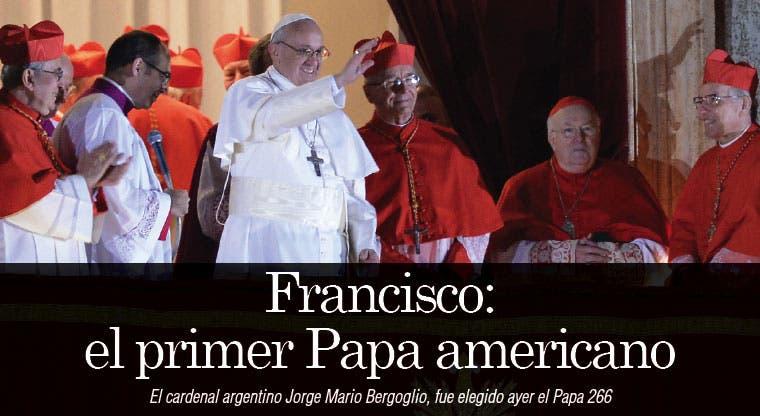 Francisco: el primer Papa americano