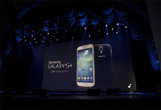 Samsung revela el esperado Galaxy S4