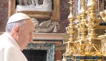 Papa: la Iglesia proclama a Jesús o es una ONG