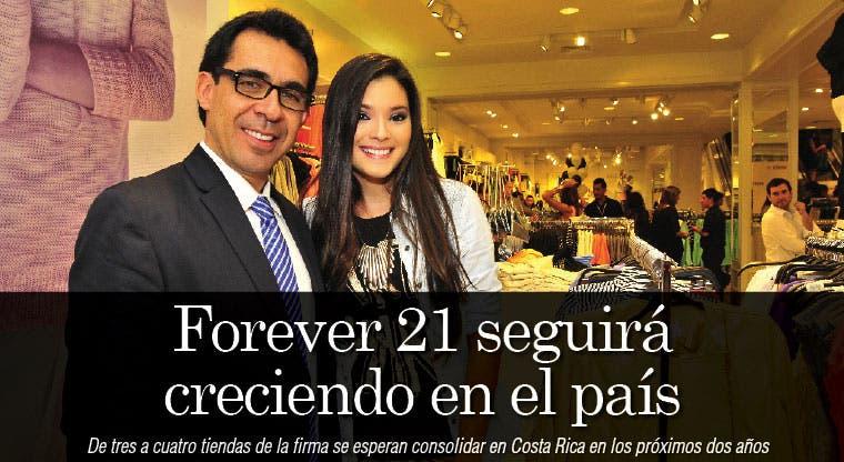 Forever 21 seguirá creciendo en el país