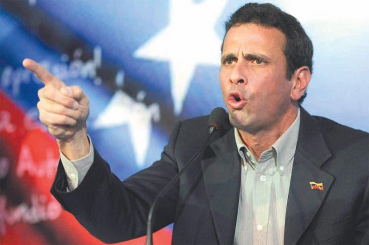 Capriles aumentaría un 40% salario mínimo