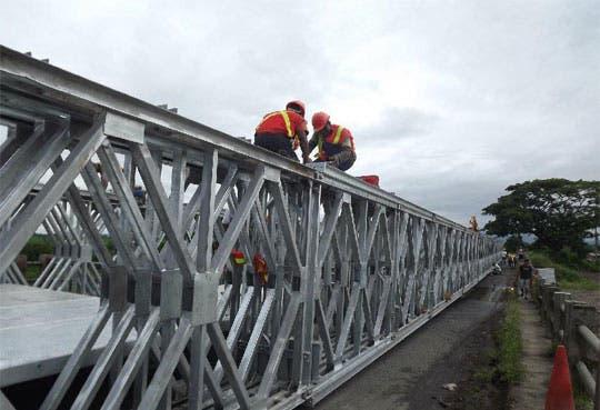 Puentes Bailey son seguros según Lanamme