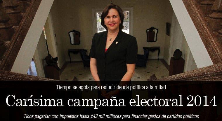 Carísima campaña electoral 2014