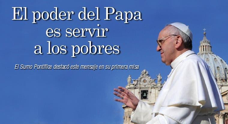 Francisco: hay que servir a los pobres