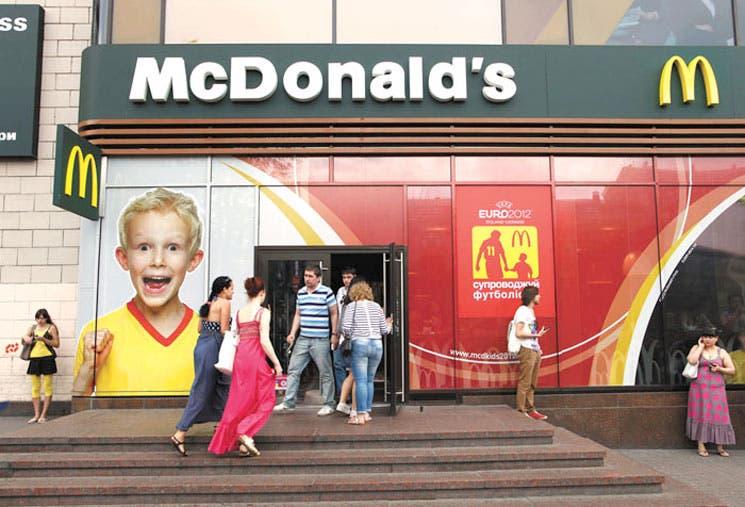 McDonald's debe competir en Moscú