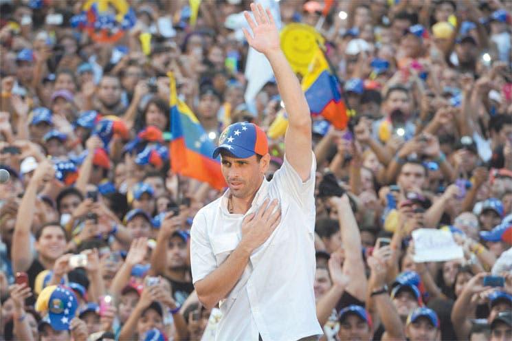 """Capriles niega entrega a """"yanquis"""""""