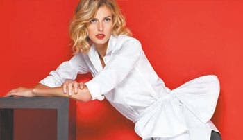 Homenaje a la blusa blanca