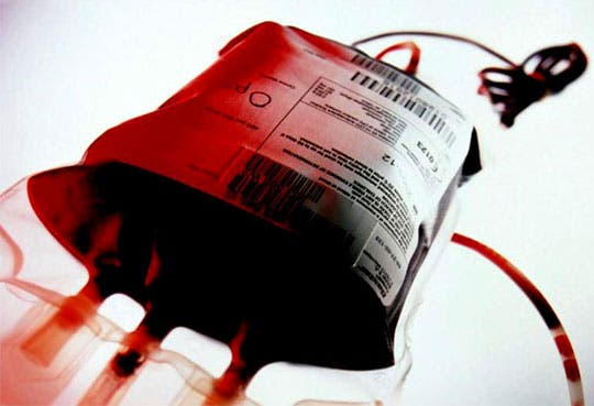Anímese a donar sangre