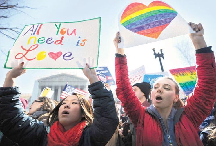 Supremo de EE.UU muestra dudas sobre bodas gais