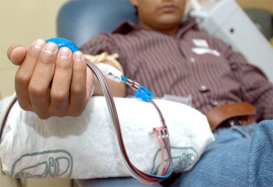Donación de sangre por reposición representa el 40%