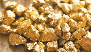 Gigantes del oro se achican