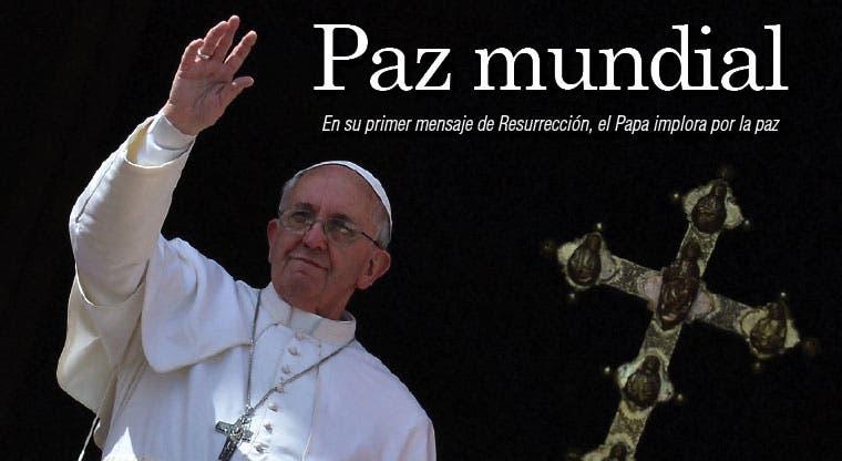 Francisco pide paz para el mundo
