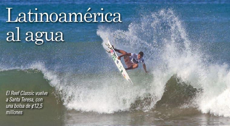 Latinoamérica al agua
