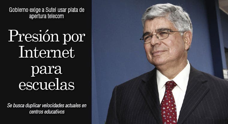 Presión por Internet para escuelas