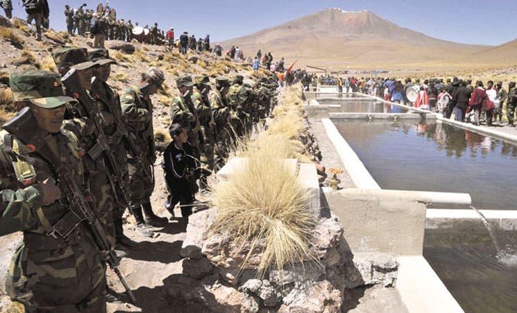 Bolivia avanza en demanda contra Chile