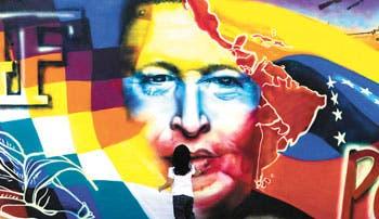 Figura de Chávez marca campaña electoral