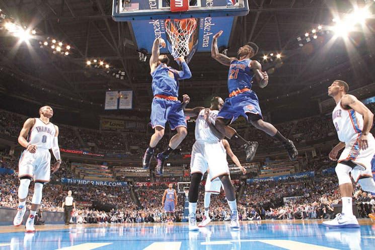 Docena para los Knicks