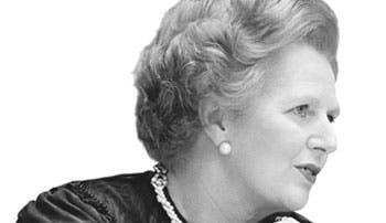 "Muere Thatcher: ""la Dama de Hierro"""