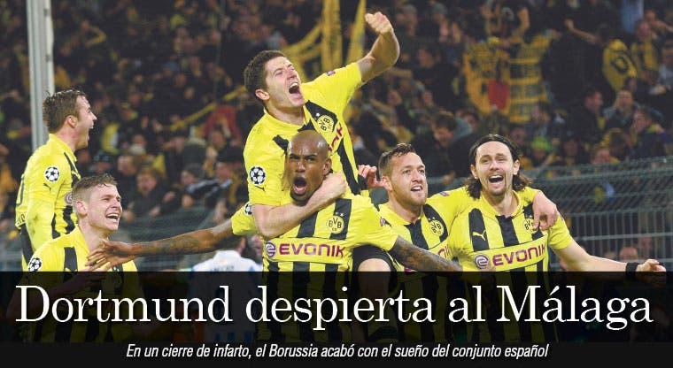 Hazaña del Dortmund